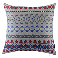 Polyester Pillow With Insert,Geometric Retro