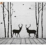 Módní / Krajina / Tvary / Abstraktní / Fantazie Samolepky na zeď Samolepky na stěnu,PVC 205*340cm