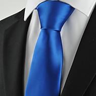 Jednobojni-Kravata(Plava,Poliester)