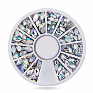 Nail Jewelry-Lovely-Sormi-Akryyli-6cm wheel-1wheel oval ab nail decorations