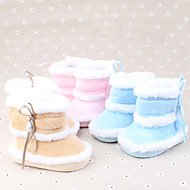 Boy's / Girl's Boots Spring / Fall / Winter Comfort Cotton Casual Ribbon Tie Blue / Pink / Khaki