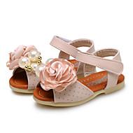 סנדלים-נעלי תינוק-חתונה / שטח / שמלה / קז'ואל-דמוי עור-כחול / ורוד / בז'