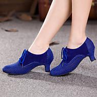 Women's Dance Shoes Belly / Latin / Dance Sneakers / Modern / Swing Shoes / Salsa / SambaVelvet / Sparkling Glitter /