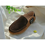 Boys' Shoes Outdoor / Casual Suede Loafers Blue / Brown / Yellow / Green / Tan / Navy