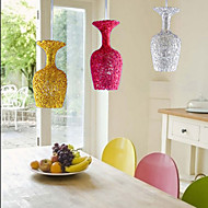 Woven Aluminum Chandelier With Three Head Lamp Apple Restaurant B