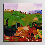 Mini Size E-HOME Oil painting Modern Mountain Scenery Pure Hand Draw Frameless Decorative Painting