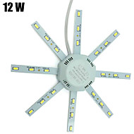 12W Luces de Techo 24 SMD 5730 960 lm Blanco Fresco Decorativa AC 100-240 V 1 pieza