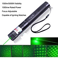 Electronics Green Laser Pens Burn Laser Lens Focus Adjustable Green Laser Pointer 5000ft Visibility 50mw Actual Power