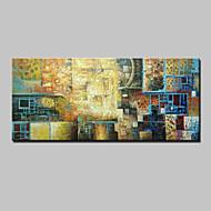 Ručně malované Abstraktní / Zvíře / Fantazie / Abstraktní krajinkaModerní Jeden panel Plátno Hang-malované olejomalba For Home dekorace