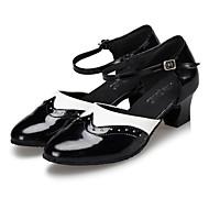 Moguće personalizirati-Ženske-Plesne cipele-Latino / Jazz / Moderni / Salsa / Samba / Cipele za swing-Umjetna koža-Potpetica po mjeri-
