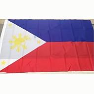 2016 na Filipínách flag flag polyester 5 * 3 ft 150 * 90 cm vysoce kvalitní levné ceny in-druhu střelby