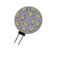 6W G4 LED bodovky MR11 12 SMD 5730 450-550 lm Teplá bílá / Chladná bílá Ozdobné DC 12 / AC 12 / AC 24 / DC 24 V 1 ks