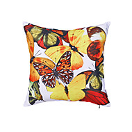 Polyester Pillow With Insert,Animal Print Country 18x18 inch