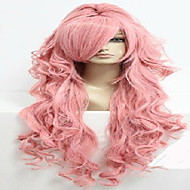 90cm Long VOCALOID-Megurine Luka Pink Cosplay Costume Anime Wig+one ponytail
