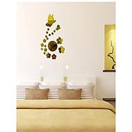 Clock Butterfly | Acrylic Mirror Clock clock  Stylish Living Room Watch