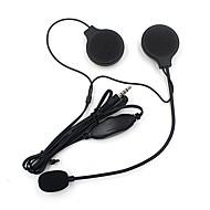 Motorradhelm-Stereo-Headset-Lautsprecher mit Mikrofon Mikrofon mp3 / 4 iphone ipod