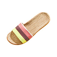 Women's Shoes Polyester Flat Heel Slippers Slippers Casual 1# / 2#