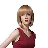 мода очаровательные короткие парики Remy руки связали верхом парик монолитным волос для женщины