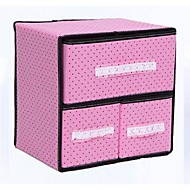 Storage Boxes / Drawers / Storage Cabinets / Desktop Organizers Textile withFeature is Vacuum / Open , ForJewelry / Ties / Underwear /
