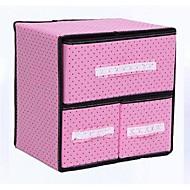 ארונות אחסון / מארגני שולחן / קופסאות אחסון / מגירות טקסטיל עםמאפיין הוא ואקום / פתוח , ל תכשיטים / קשרים / תחתונים / בד