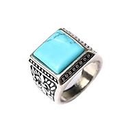 Vintage / Feest / Werk / Informeel - Verzilverd - Opvallende ring