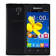 "Lenovo A396 4.0 "" Android 2.3 Smartphone 3G ( SIM Unico Quad Core 2 MP 256MB + 512MB Nero / Rosa / Bianco )"
