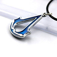Hot European and American Style Assassin's Creed Sign Alloy Pendant Necklace