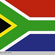 dél-afrikai zászló köztársaság Afrika RSA Pretoria Fokváros mandela szivárvány zászló nélkül (zászlórúd)