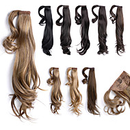 """18"""" Wrap Around Straight Synthetic Ponytail Pony Hair Extensions Hair wigs Pieces,1 Piece,63g"""