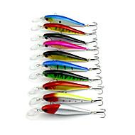 """10pcs pcs kleiner Fisch Zufällige Farben 9.5g g/1/3 Unze,105mm mm/4-1/4"""" Zoll,Fester KunststoffSeefischerei / Fischen im Süßwasser /"""