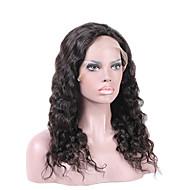 Malásia virgem cheia do laço perucas de cabelo humano para cabelo humano mulheres negras onda de água rendas frente perucas glueless