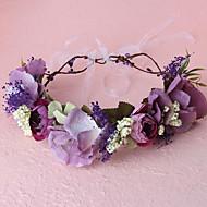 Women's Fabric Headpiece - Wedding / Special Occasion / Casual / Outdoor Headbands 1 Piece