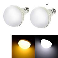 YouOKLight®  2PCS E27 3W CRI>70 6*SMD5630 200LM 3000K Warm White  Cold White 6000K LED Globe Bulbs (AC 220V)