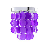 LightMyself Modern/Contemporary Mini Style Electroplated Shell Flush Mount Living Room / Bedroom / Dining Room / Kitchen