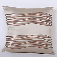 Satin Wave Jacquard Cushion Cover -Cold