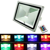 30W 3000lm RGB LED אורות מבול 16 צבעים עמידים למים הובילו הארה (12v)
