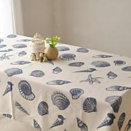 océanique tissu de table à motifs mode hotsale de haute qualité draps en coton table basse carrée couverture en tissu éponge