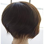 """naturalne treski peruka męskie proste 6 """"dobrze mono remy ludzki włos 10"""" x8 """"hairpiece dla mężczyzn"""