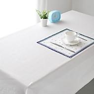 čistě bílý ubrus módní hotsale vysoce kvalitní bavlněné povlečení čtvercový konferenční stolek krycí tkanina ručník
