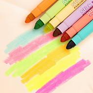 プラスチック-蛍光ペン-キュート