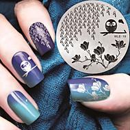2016 nieuwste versie mode patroon nail art afbeelding stempelen template platen