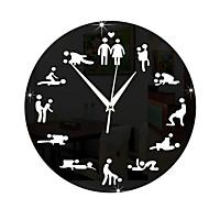 mirror sex position wall clock clocks 24hours sex clock novelty wall clock
