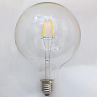 1 db. kwb E26/E27 7W / 8W 8 COB 750 lm Meleg fehér G125 edison Régies (Vintage) Izzószálas LED lámpák AC 220-240 V