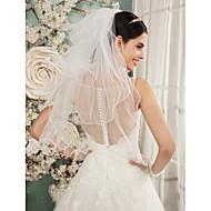 Wedding Veil Four-tier Shoulder Veils Pencil Edge