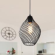 Max 60W Retro Estilo Mini Pintura Metal Luzes PingenteSala de Estar / Quarto / Sala de Jantar / Cozinha / Quarto de Estudo/Escritório /