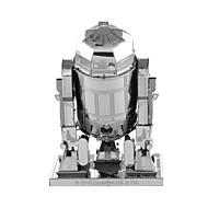 Jigsaw Puzzle 3D építőjátékok / Fém építőjátékok Építőkockák DIY játékok Fém Pink Építő játékok