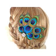 2016 nouvelle accessoire de accessoires pour cheveux fascinator en accessoires de plumes fabriqués à la main