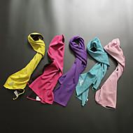 hurtigtørrende håndklæde sved håndklæde sport håndklæde følelse koldt udendørs yoga badminton 1pc