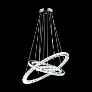 0.5 moderní - současný design Křišťál / LED Galvanicky potažený Kov Závěsná světlaObývací pokoj / Ložnice / Jídelna / Kuchyň / studovna