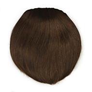 perwersyjne kręcone brązowe prosto ludzki włos wyplata chignons 2009